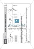 Sport an Stationen: Hangeln und schwingen an Barren und Co. (leicht - mittel). Mit Arbeitsblättern. Preview 2