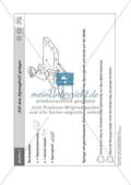 Sport an Stationen: Springen und hüpfen auf Trampolin und Co. (leicht - mittel). Mit Arbeitsblättern. Preview 3