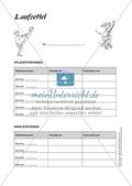 Sport an Stationen: Springen und hüpfen auf Trampolin und Co. (mittel - schwer). Mit Arbeitsblättern. Preview 5