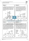 Vertretungsstunde Sport an Stationen: 4er und 5er Pyramiden bauen. Mit didaktischen Erläuterungen. Preview 2