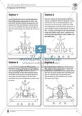 Vertretungsstunde Sport an Stationen: 4er und 5er Pyramiden bauen. Mit didaktischen Erläuterungen. Preview 4