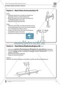 Vertretungsstunde Sport an Stationen: Krafttraining. Mit didaktischen Erläuterungen. Preview 4