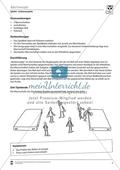 Vertretungsstunde Sport: Ballspiele. Mit didaktischen Erläuterungen. Preview 1