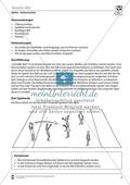 Vertretungsstunde Sport: Ballspiele. Mit didaktischen Erläuterungen. Preview 2