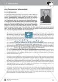 Willensfreiheit: Ein Vergleich der Position von A. Schopenhauer und F. Savater. Mit Arbeitsblättern und Lösungen. Preview 3