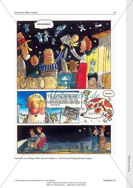 Sich (keine) Bilder machen! Zwei sehr unterschiedliche Bilder zur Weihnachtsgeschichte: Unterrichtsentwurf Preview 2