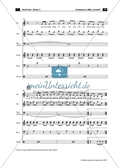 ABBA: Fernando. Band-Arrangement Preview 4