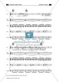 ABBA: Fernando. Band-Arrangement Preview 7