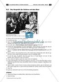 Arbeitsblatt mit Aufgaben und didaktischen Hinweisen zum Dialog zwischen der Schönen und dem Biest. Preview 1