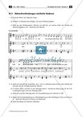 Akkordverbindungen: einfache Kadenz. Arbeitsmaterial mit Erläuterungen Preview 1