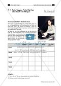 Arbeitsblatt mit Informationstext und verschiedenen Aufträgen zur Einordnung von Musikstücken zu Gattungen. Preview 1
