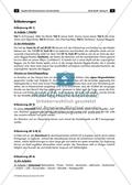 Arbeitsblatt mit Aufgaben und Lösungen sowie Erläuterungen für Lehrkräfte zu Merkmalen von verschiedenen Musikgattungen. Preview 3