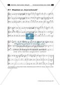 Musik, Bausteine, Elemente, Material, Notation