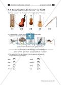 Arbeitsblatt mit Übungen und Lösungen zum simulativen Hörverstehen des Werkes