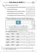 Zahlenraum bis 100 000 - Darstellung großer Zahlen in Zahlworten Preview 3