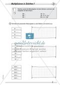 Differenziertes Übungsmaterial zum Multiplizieren - Rechnen in Schritten. Preview 1
