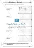 Differenziertes Übungsmaterial zum Multiplizieren - Rechnen in Schritten. Preview 3