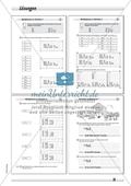 Differenziertes Übungsmaterial zum Multiplizieren - Rechnen in Schritten. Preview 4