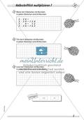 Differenziertes Übungsmaterial zum Multiplizieren - halbschriftliches Rechnen. Preview 1
