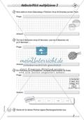 Differenziertes Übungsmaterial zum Multiplizieren - halbschriftliches Rechnen. Preview 3