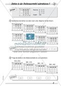 Differenziertes Übungsmaterial zum Subtrahieren - Subtrahieren in der Stellenwerttafel. Preview 4