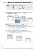 Differenziertes Übungsmaterial zum Subtrahieren - Subtrahieren in der Stellenwerttafel. Preview 5