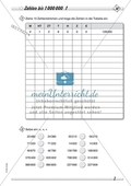 Zahlenraum bis 1 000 000 - Große Zahlen in der Stellenwerttafel Preview 1