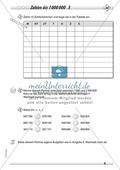 Zahlenraum bis 1 000 000 - Große Zahlen in der Stellenwerttafel Preview 3