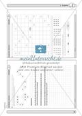 Material zur Verbesserung der Grundfähigkeiten im Zahlenraum - Zahlen in der Hundertertafel anordnen. Preview 7