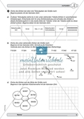 Material zur Verbesserung der Grundfähigkeiten im Zahlenraum - Zahlenstrahl und Zahlenrelationen. Preview 4