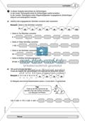 Material zur Verbesserung der Grundfähigkeiten im Zahlenraum - Zahlenstrahl und Zahlenrelationen. Preview 5