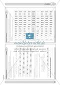 Material zur Verbesserung der Grundfähigkeiten im Zahlenraum - Zahlenstrahl und Zahlenrelationen. Preview 9