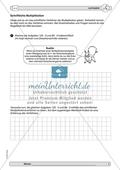 Material zur Verbesserung der schiftlichen Rechenverfahren - erste Übungen zum Multiplikationsverfahren. Preview 1