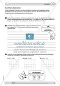 Material zur Verbesserung der schiftlichen Rechenverfahren - erste Übungen zum schriftlichen Subtraktionsverfahren. Preview 1