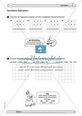 Material zur Verbesserung der schiftlichen Rechenverfahren - erste Übungen zum schriftlichen Subtraktionsverfahren. Preview 2