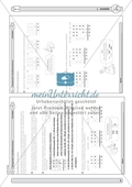 Material zur Verbesserung der schiftlichen Rechenverfahren - erste Übungen zum schriftlichen Subtraktionsverfahren. Preview 3