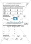 Material für eine Freiarbeit zum Thema Bruchzahlen - Unechte Brüche als gemischte Zahl darstellen. Preview 1