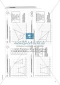 Material für eine Freiarbeit zum Thema Geometrische Figuren - Im Koordinatensystem zeichnen. Preview 3