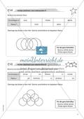 Material für eine Freiarbeit zum Thema Geometrische Figuren - Kreise zeichnen und untersuchen. Preview 2