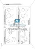 Material für eine Freiarbeit zum Thema Geometrische Figuren - Kreise zeichnen und untersuchen. Preview 3