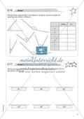 Material für eine Freiarbeit zum Thema Geometrische Figuren - Winkel zeichnen, messen und beschriften. Preview 1