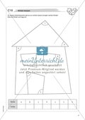 Material für eine Freiarbeit zum Thema Geometrische Figuren - Winkel zeichnen, messen und beschriften. Preview 2