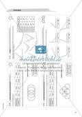 Material für eine Freiarbeit zum Thema Geometrische Figuren - Winkel zeichnen, messen und beschriften. Preview 3