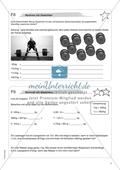Material für eine Freiarbeit zum Thema Sachbezogene Mathematik - Rechnen mit Gewichten. Preview 1
