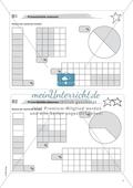 Mathematik, Größen & Messen, Zahlen & Operationen, Prozentrechnung, Bruchrechnung, Anteile