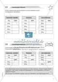 Material für eine Freiarbeit zum Thema Funktionen und Größen - Zuordnungen erkennen. Preview 1