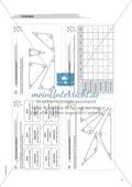 Material für eine Freiarbeit zum Thema Geometrische Flächen - Wir untersuchen Dreiecke. Preview 3