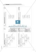 Material für eine Freiarbeit zum Thema Ganze Zahlen - Additionsmaschine. Preview 2