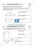 Aufgaben für eine Freiarbeit zum Thema: Geometrische Körper - Berechnungen am Dreiecksprisma. Preview 1