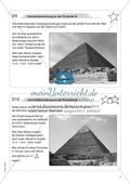Aufgaben für eine Freiarbeit zum Thema: Geometrische Körper - Volumenberechnungen an der Pyramide. Preview 3
